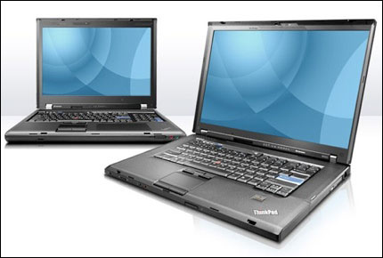 Lenovo ThinkPad W500 and W700 Mobile Workstations