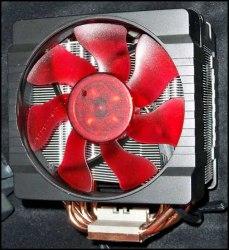 Cooler Master V6 окрашен в красный цвет