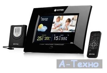 Беспроводная метеостанция / цифровая фоторамка от VITEK
