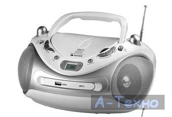 Магнитола с CD/MP3 VT-3457 SR