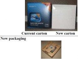 упаковка коробочные процессоры в исполнении Intel LGA 1366