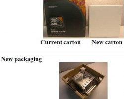 Компания Intel также уменьшит коробки, в которых поставляются штатные системы охлаждения для серверных процессоров