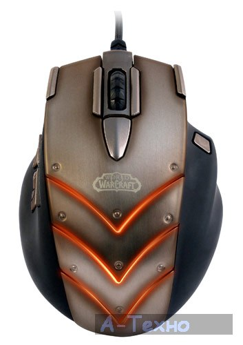 World of Warcraft: Cataclysm MMO Gaming Mouse
