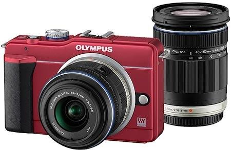 Olympus E-PL1S.
