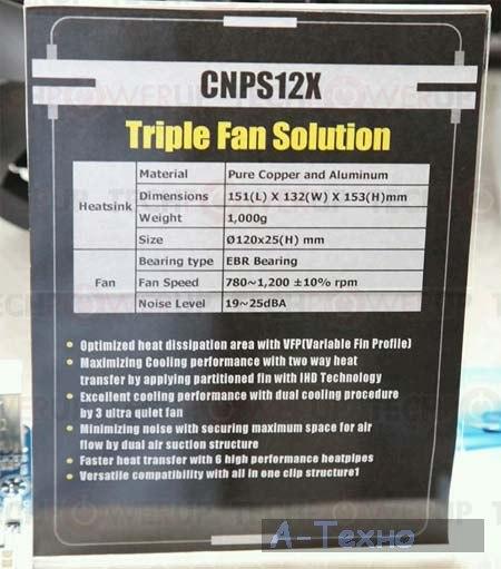 Zalman CNPS12X