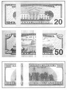 инфракарасные метки признаки доллара