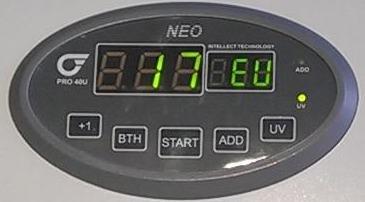 дисплей счетчика банкнот PRO 40U Neo