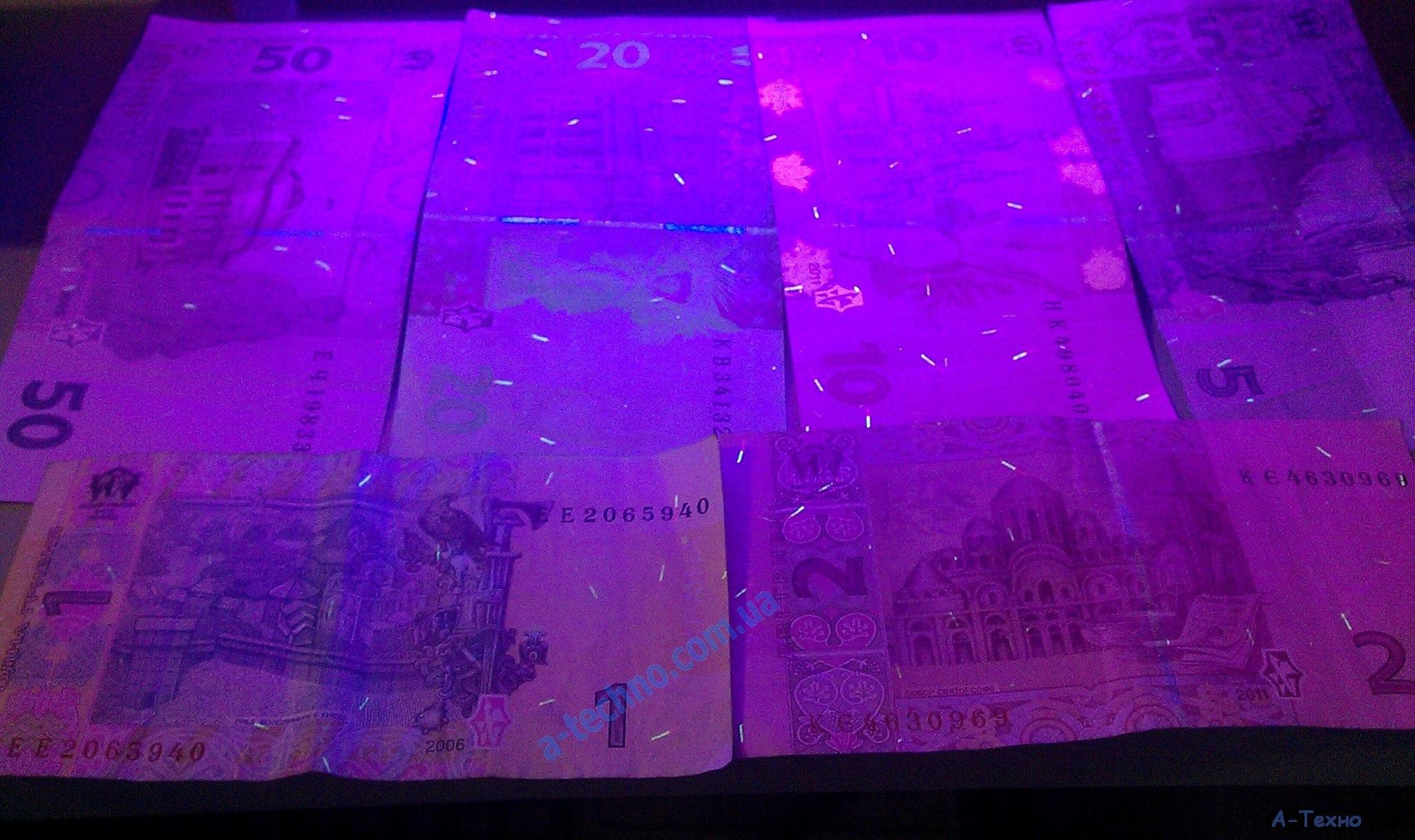 Выбор детектора валют. Как определить фальшивку.