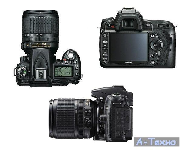 Nikon, зеркальные фотокамеры - Nikon D90 kit AF-S 18-200 VR II.
