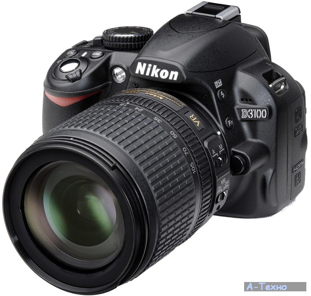 Фотоаппараты Nikon Nikon D3100 kit AF-S DX 18-105mm VR ...: a-techno.com.ua/24893.html