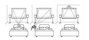 проектор Epson можно установить в любом месте комнаты