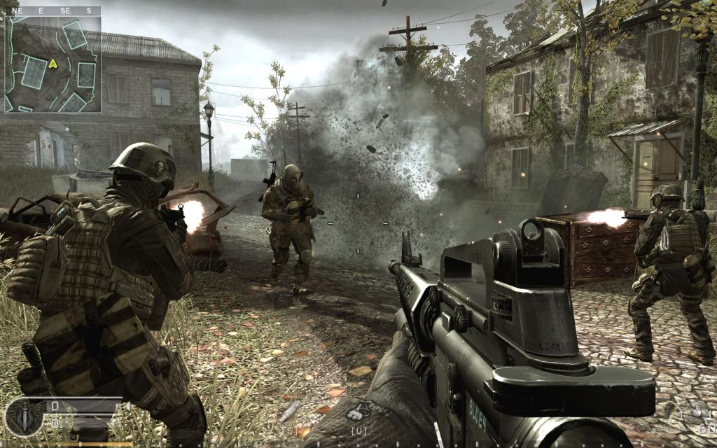 call of duty 4 modern warfare logo. Call of Duty 4 Modern Warfare