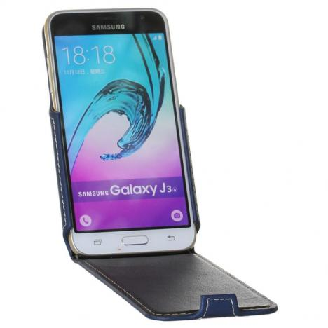 Чехол для моб. телефона RED POINT для Samsung Galaxy J320 - Flip case (Blue) (6281957) - Фото 1