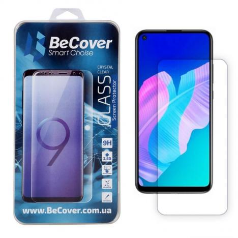 Стекло защитное BeCover P40 Lite E Crystal Clear Glass (704846) - Фото 1