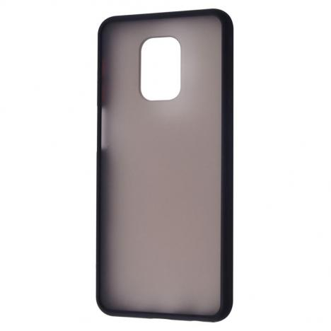 Чехол для моб. телефона Matte Color Case Xiaomi Redmi Note 9S/Note 9 Pro Black (28788/Black) - Фото 1