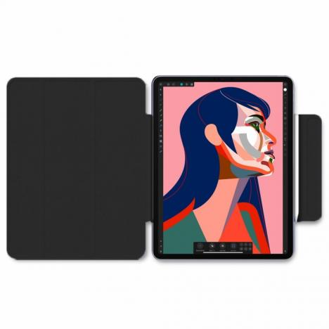 Чехол для планшета BeCover Magnetic Apple iPad Pro 12.9 2020 Black (705004) - Фото 5