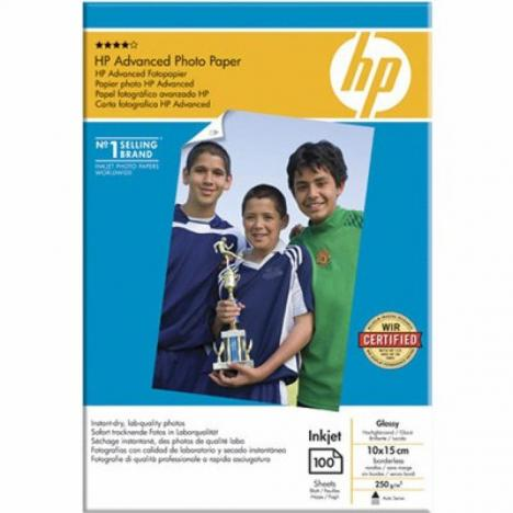 Бумага HP 10x15 Advanced Glossy Photo Paper (Q8692A) - Фото 1