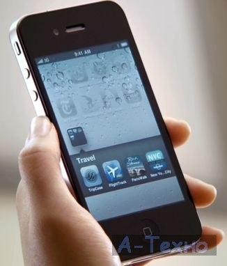 как не следует держать смартфон