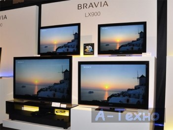 3D-совместимые телевизоры Sony