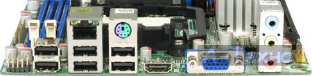 Sapphire IPC-AM3DD785G панель подключения