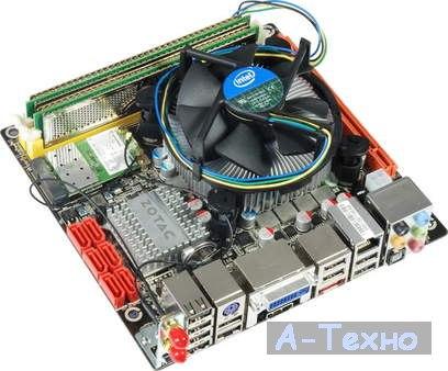 Zotac H55-ITX WiFi с кулером