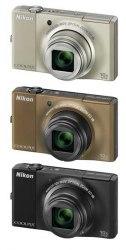 Nikon Coolpix S8000 цвета