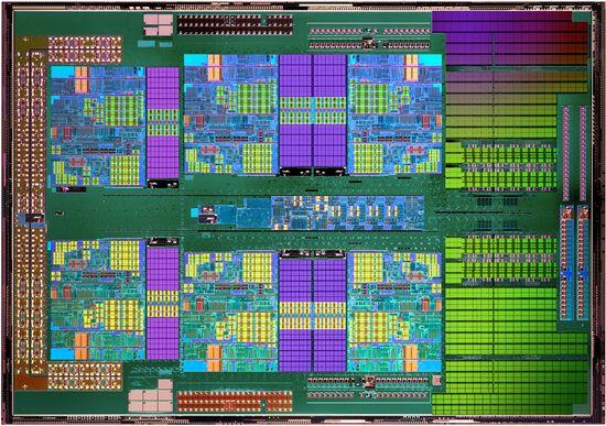 архетектура ядра Phenom II X6