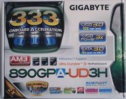 gigabyte 890gx упаковка