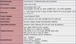 core i7-980x испытательная установка