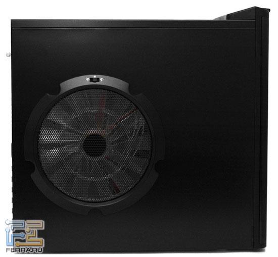 Enermax Chakra Monster Fan: боковая стенка с вентилятором 250 мм