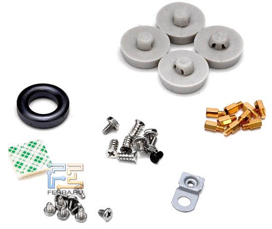 XClio Propeller: крепёжные элементы