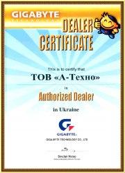 А-Техно Сертификат GIGABYTE