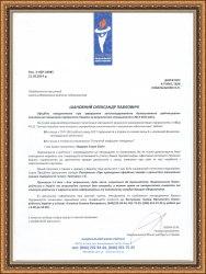 Бизнес рейтинг письмо Торгоая палата 2013