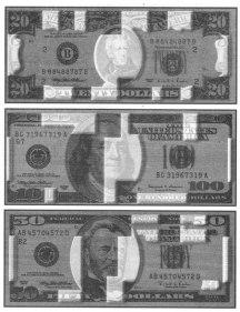 магнитные метки доллара