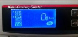 экран счетчика банкнот  BCASH K-2108LCD UV/MG