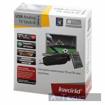 KWorld UB405-A TV Stick Driver UPDATE