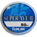 Фото Sunline Super Ayu II 50м HG #0, 4 0.104мм 0, 98кг (1658.03.42)